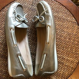 Cole Haan Shoes - Cole Haan Champagne Boat Shoes